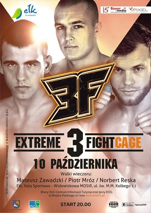 EXTREME FIGHT CAGE 3