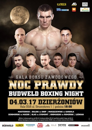 BUDWELD BOXING NIGHT